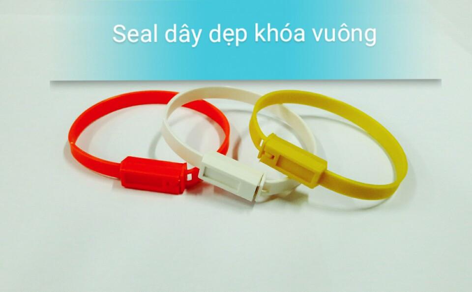 Seal nhựa dây dẹp khóa vuông 20 cm